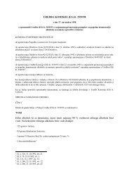 UREDBA KOMISIJE (ES) št. 2559/98 Člen 1 Etilni alkohol, ki se ...