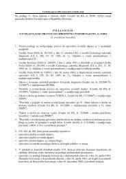 2. prečiščeno besedilo - Carinska uprava Republike Slovenije