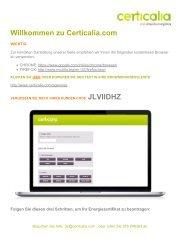 Willkommen zu Certicalia.com - Mallorca Immobilien