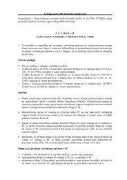 Navodilo o izvajanju nadzora v prosti coni, Å¡t. 3/2008 - Carinska ...