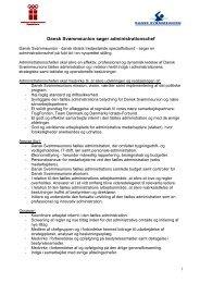 Dansk Svømmeunion søger administrationschef