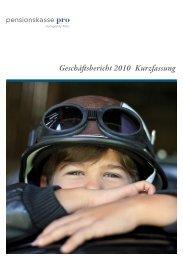 Geschäftsbericht 2010 Kurzfassung - Tellco AG