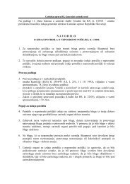 Na podlagi 11. člena Zakona o carinski službi - Carinska uprava ...