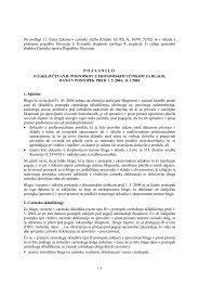POJASNILO - Carinska uprava Republike Slovenije