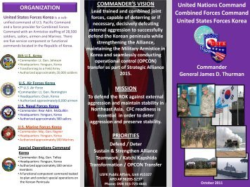 commands - United States Forces Korea