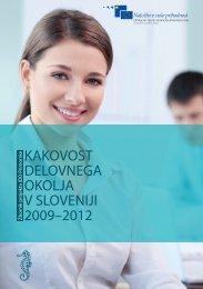 Kakovost delovnega okolja v Sloveniji 2009-2012 - Založba ...