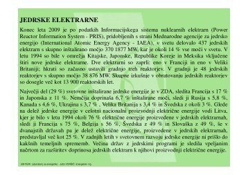 JEDRSKE ELEKTRARNE - POWERLAB