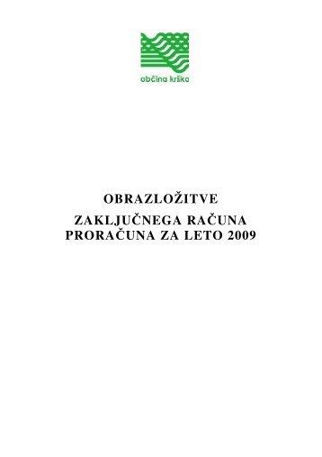 ZR 2009 - Občina Krško