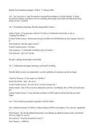 Referat fra Generalforsamlingen i FSK d. 17. februar 2006. Ad 1. Jan ...