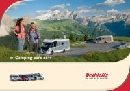 Catalogue camping-cars 2011 - Dethleffs