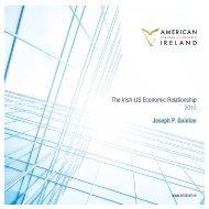 Irish US Economic Relationship 2015