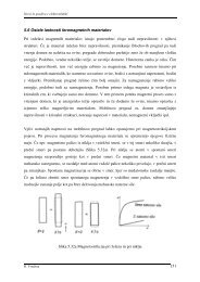 151 5.6 Ostale lastnosti feromagnetnih materialov Pri izdelavi ... - lrtme