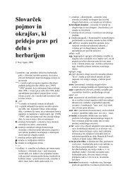 Herbarijski slovar