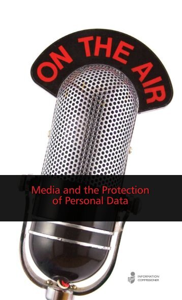 Media and the Protection of Personal Data