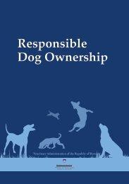 Responsible Dog Ownership
