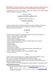 Pravilnik o pogojih za zaveti - Veterinarska uprava Republike ...