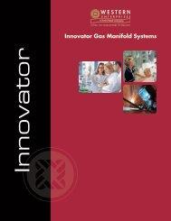 Innovator Gas Manifold Systems - Western Enterprises