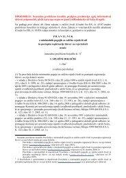 Pravilnik o minimalnih pogojih za zaščito rejnih živali in postopku ...