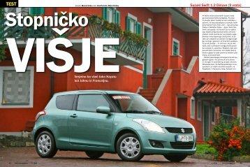 Suzuki Swift 1.2 Deluxe (3 vrata) - Avto Magazin