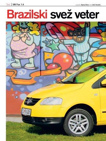 VW Fox.qxd - Avto Magazin