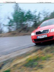 Test Škoda Octavia RS - Avto Magazin