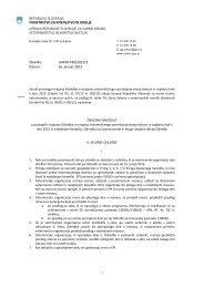 Obvezno navodilo 2013 - Veterinarska uprava Republike Slovenije
