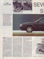 Prenesi PDF testa Volvo Volvo 960 - Avto Magazin