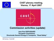 Commission activities (update) - CAST - Campaigns and Awareness ...