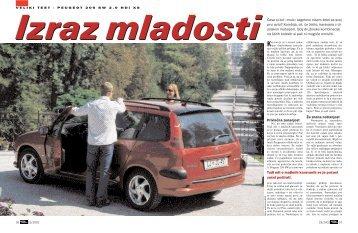 Privlačna zunanjost Že znana notranjost Česa si kot ... - Avto Magazin