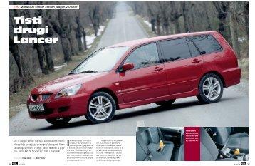 Tisti drugi Lancer - Avto Magazin