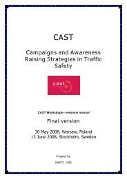 Campaigns and Awareness Raising Strategies in ... - Cast-eu.org