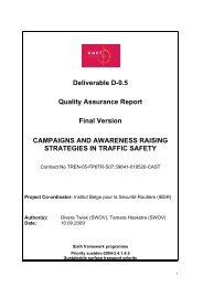 Deliverable 0.5: Quality Assurance reports - CAST - Campaigns and ...