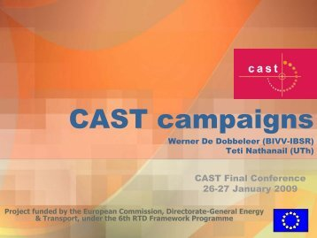 CAST - Campaigns and Awareness-raising Strategies in Traffic Safety