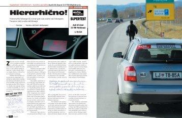 Hierarhično! - Avto Magazin
