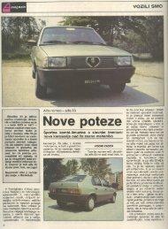 Prenesi PDF testa Alfa Romeo Alfa Romeo 33 - Avto Magazin