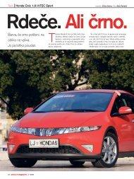 Honda Civic prava.qxd - Avto Magazin
