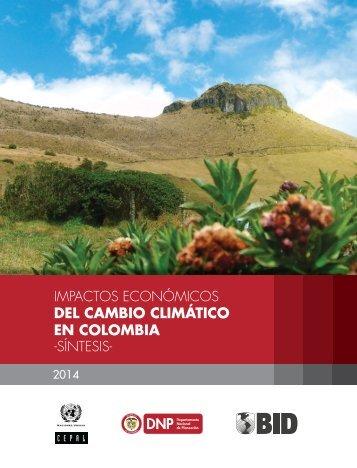 Impactos Económicos del Cambio Climatico_Sintesis_Resumen Ejecutivo