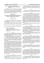 Odredba o izvajanju sistematičnega spremljanja stanja bolezni in ...