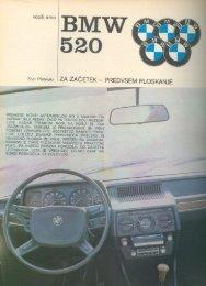 Prenesi PDF testa BMW BMW 520 - Avto Magazin