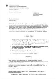 Odločba o prepovedi premikov čebeljih družin - Veterinarska uprava ...