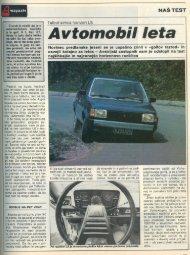 Prenesi PDF testa Talbot Talbot Simca Horizon LS - Avto Magazin