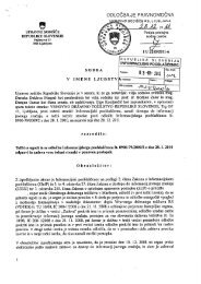 I U 2255/2011-6 - Informacijski pooblaščenec