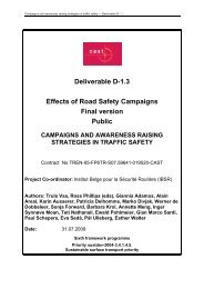 Deliverable 1.3 - CAST - Campaigns and Awareness-raising ...