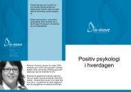 Positiv psykologi i hverdagen - in-move