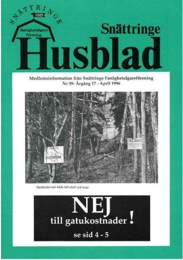 1996-2 - Snättringe fastighetsägareförening