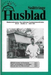 1991-2 - Snättringe fastighetsägareförening