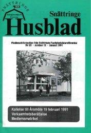 1991-1 - Snättringe fastighetsägareförening