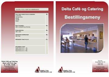 Se og last ned meny - Deltagruppen