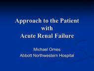 Approach to the Patient with Acute Renal Failure - Abbott ...