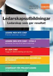 Ledarskapsutbildningar - Conductive